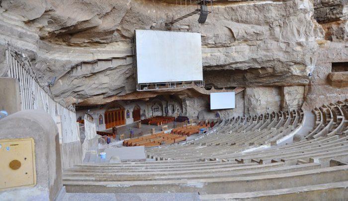 ماجرای یک کلیسای عجیب در مصر ، تصاویر