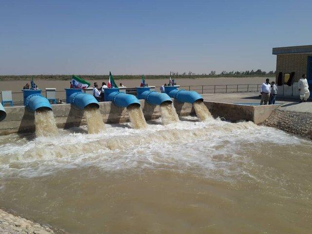 شروع طرح خط انتقال آب طبس با حضور وزیر نیرو