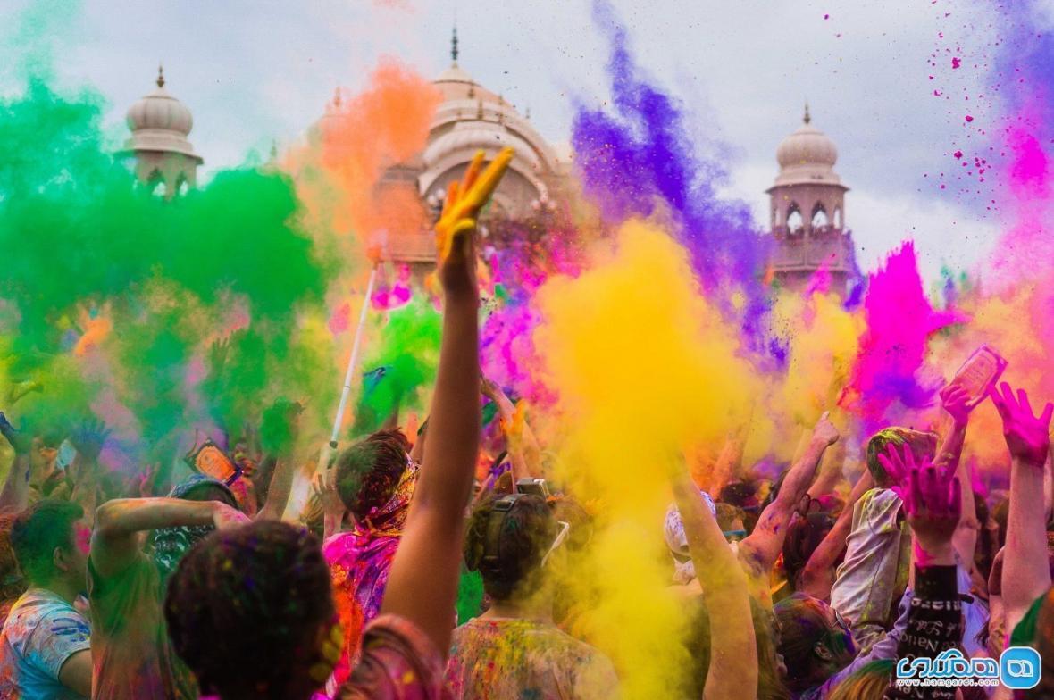 جشن هولی ، بهترین و اصیل ترین نوع جشن در جهان