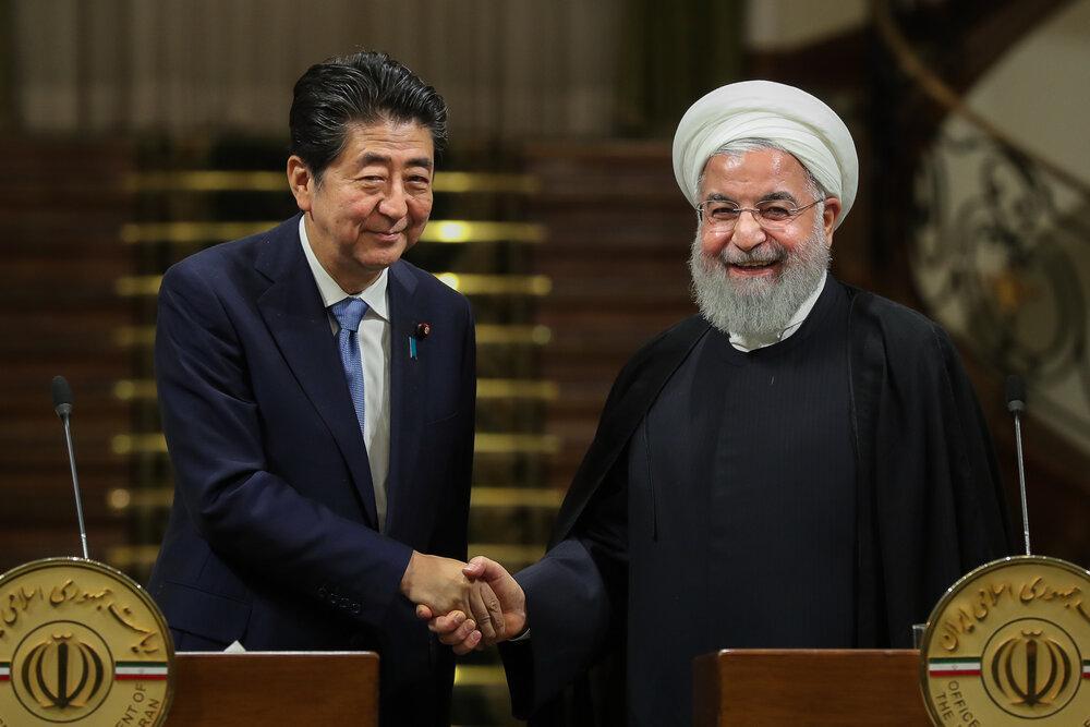 برآورد رسانه ژاپنی از محتوای مذاکرات روحانی و آبه، طرح توکیو روی میز است