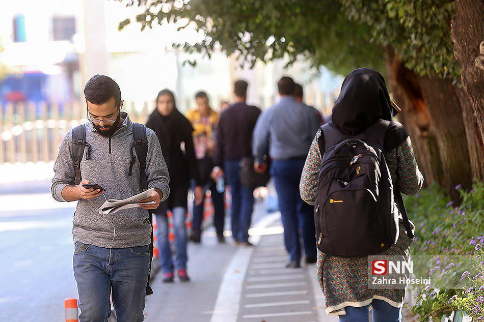 چند درصد دانشجویان ایرانی مهاجرت نموده اند؟