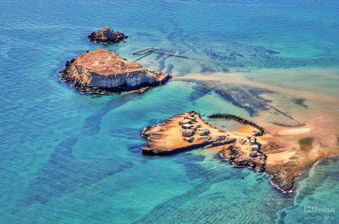 جزایر ناز قشم ، بیایید روی دریا قدم بزنیم!(