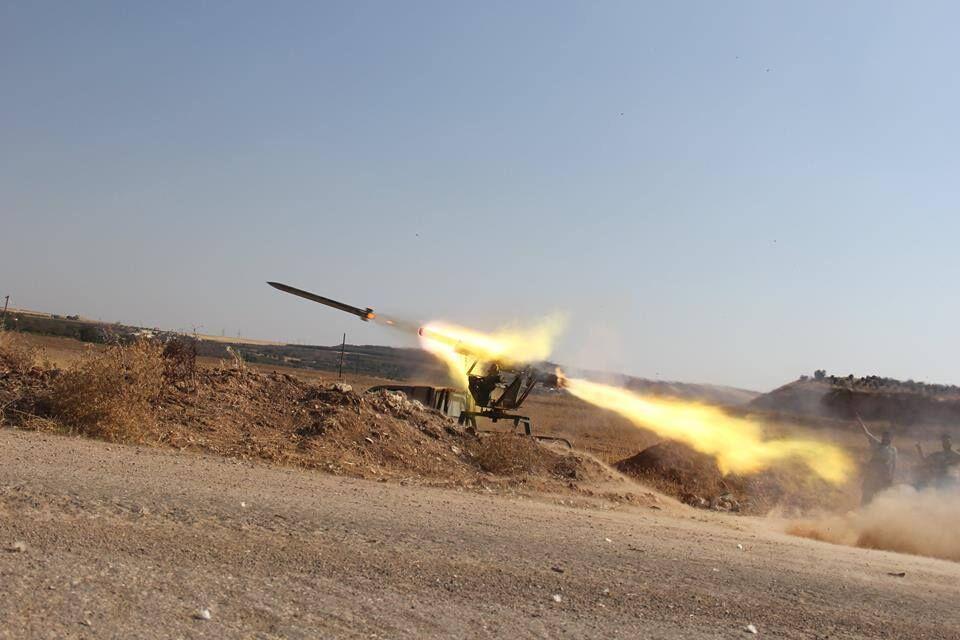 خبرنگاران پایگاه نظامی آمریکا در صلاح الدین عراق هدف حمله موشکی قرار گرفت