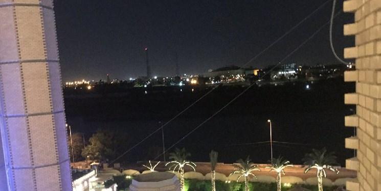 العربیه مدعی اصابت راکت به منطقه سبز بغداد شد