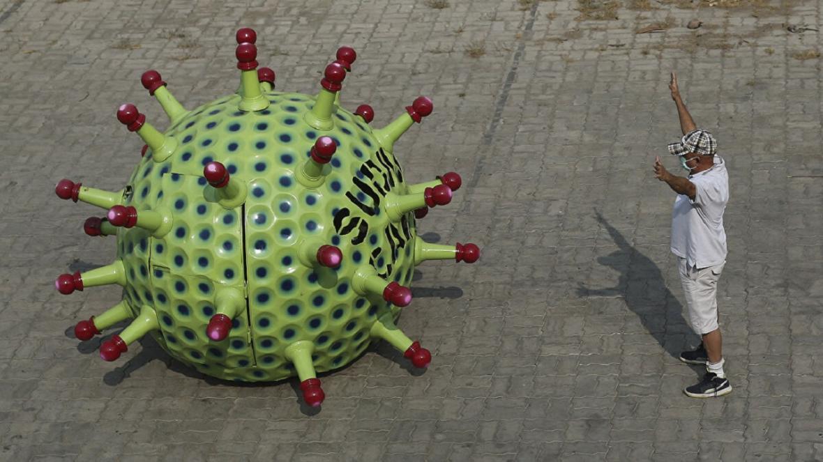 اقدام جالب مخترع هندی بر ای جلوگیری از شیوع ویروس کرونا
